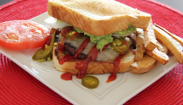 Stuffed Grilled Cheese Burger Recipe