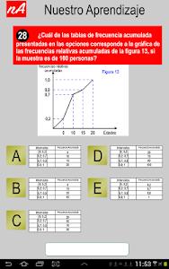 PSU Matemática Prueba Ensayo screenshot 3