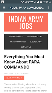 Indian Army Jobs (Latest) - náhled