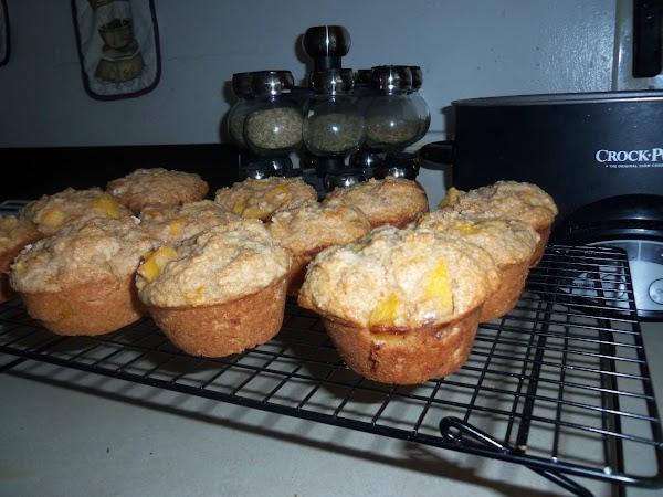 Whole Wheat Peach Muffins Recipe
