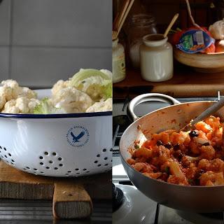 Anchovy Sauce Cauliflower Recipes