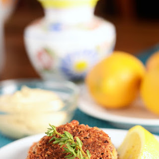 Quinoa Cannellini Cakes