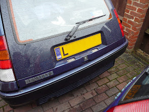 Photo: .. and fit the new Renault 5 GT Turbo Raider rear lip.