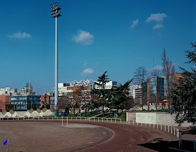 Photo: Porte de Montreuil, Stade 2, 2003