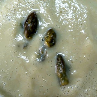 Low Carb Asparagus and Cauliflower Soup Recipe