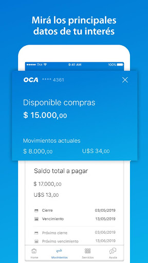 OCA - screenshot