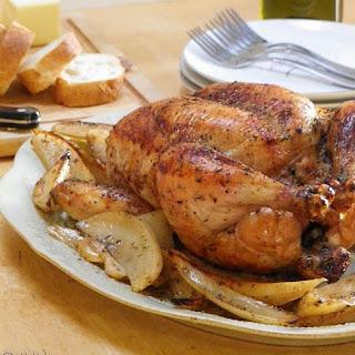 Drunken Chicken and Potatoes.