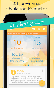 Ovia Fertility Tracker App- screenshot thumbnail