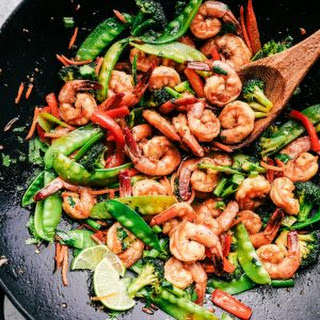 Garlic Shrimp Stir Fry Recipe