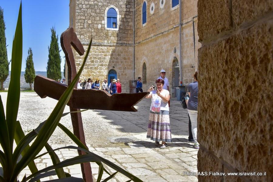 Экскурсия в монастыре Бейт Джамаль, Израиль.