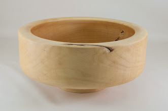 "Photo: Phil Brown 11"" x 5"" salad bowl [Box Elder]"