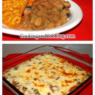 Refried Bean Casserole Recipes.