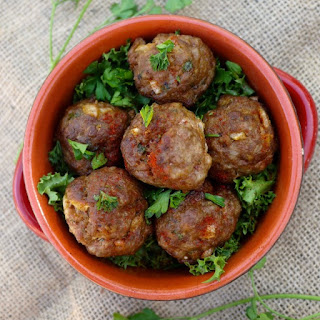 Spiced Lemon Pork Meatballs.