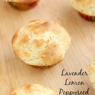 Lavender Lemon Poppyseed Muffin Recipe