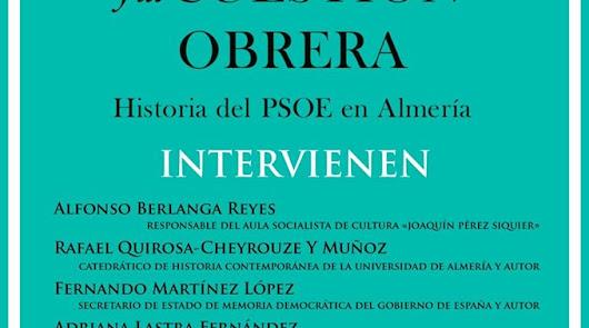 Adriana Lastra presentará un libro de Fernando Martínez y Rafael Quirosa