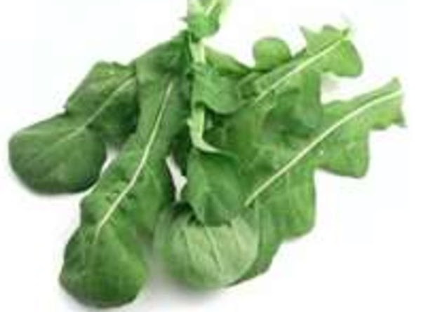 Toss chopped arugula with two tablespoons of olive oil lemon infused with gorgonzola.