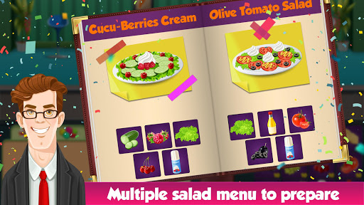 Salad Bar Manager Frenzy: Food Cafe Manager 1.0.5 screenshots 3