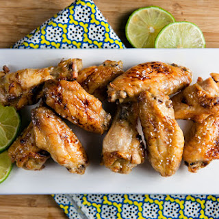 Baked Chicken Wings Vegetables Recipes