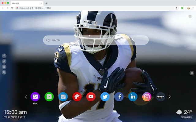 Robert Woods New Tab & Wallpapers Collection