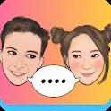 MojiPop - My Personal Emoji Keyboard & Camera icon