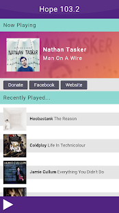 Hope 103.2  -  Christian Radio- screenshot thumbnail