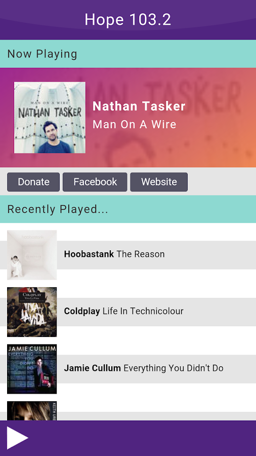 Hope 103.2  -  Christian Radio- screenshot