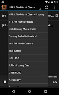 Online Country Radio - náhled