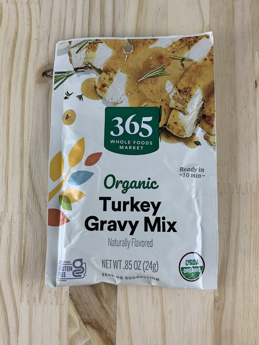 Organic Turkey Gravy Mix