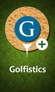 Golfistics Admin - náhled