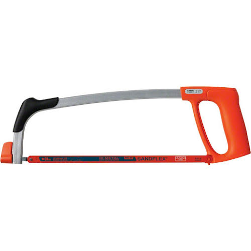 "Bahco 12"" Professional Light Hacksaw Frame with Bimetal Blade"