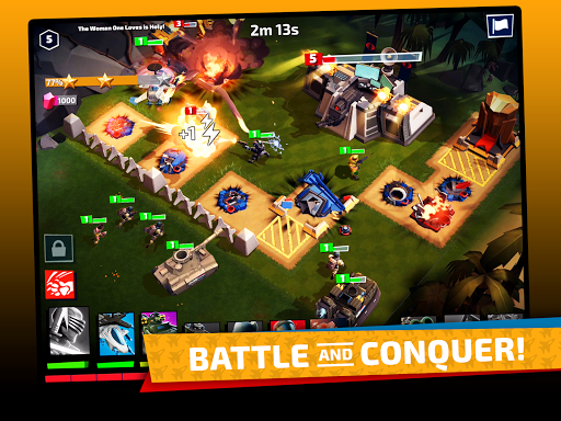 G.I. Joe: War On Cobra - Build. Fight. Conquer. - screenshot