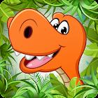 儿童益智游戏为幼儿园教育 - 恐龙 icon