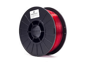 Translucent Red PRO Series PLA Filament - 3.00mm