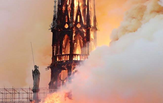 노트르담 대성당 화재