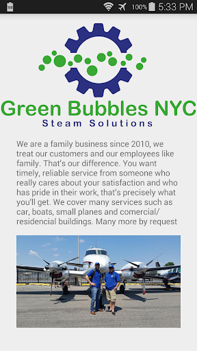 Green Bubbles NYC