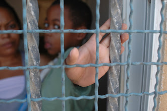Photo: imprisoned in his home in Jaffa