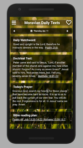 Moravian Daily Texts 2019 screenshot 4