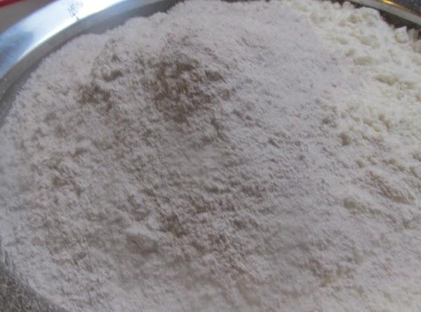 Gradually add  flour mixture in 3 intervals,