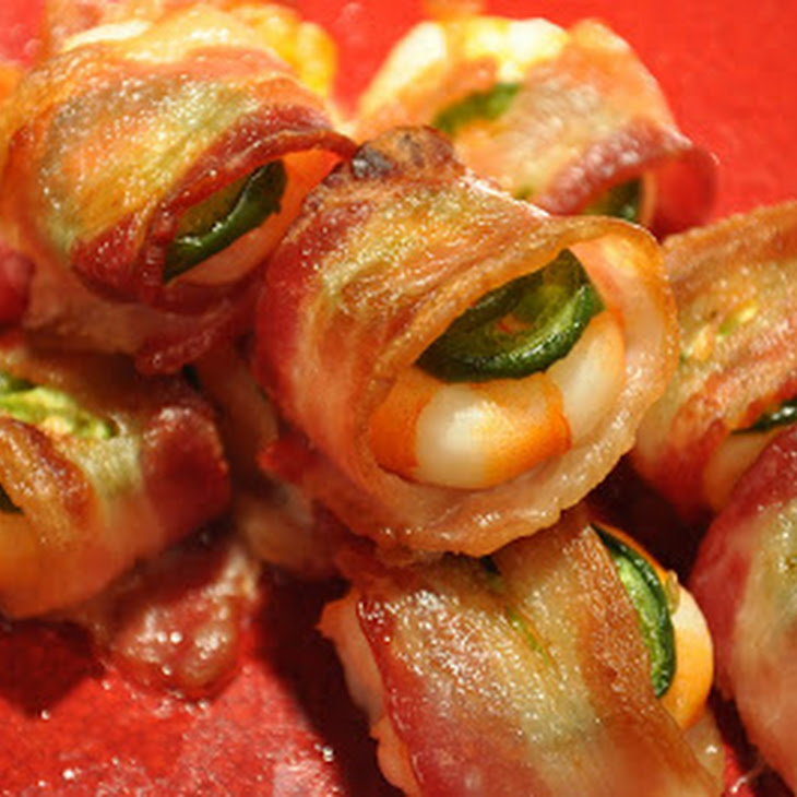 SHRIMP WRAPPED in BACON with JALAPENO Recipe