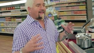 Guy's Grocery Games Set Tour