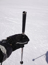 Photo: This ski pole is full of Knob Creek bourbon!