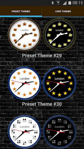 Analog Clock Widget with Alarm screenshots 3