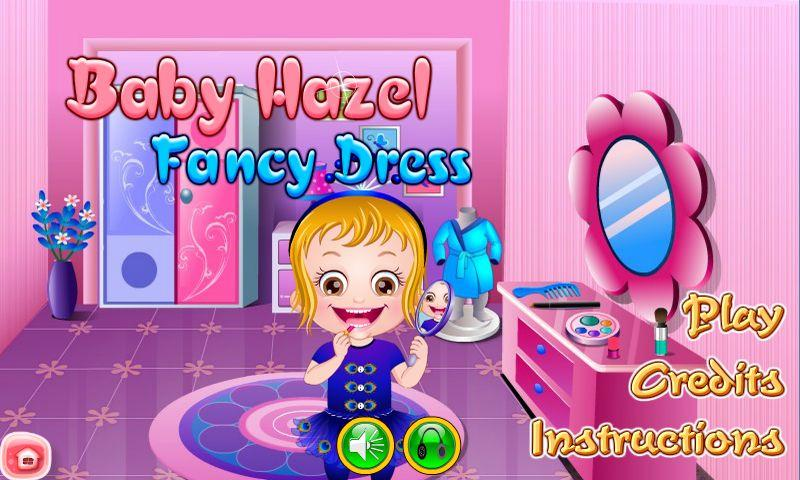 Baby Hazel Makeover Games- screenshot
