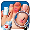 Foot Surgery Hospital Simulator : New Doctor Games icon