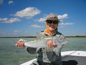 Photo: 11 Fish on Thursday for this girl- Andros Island Trip