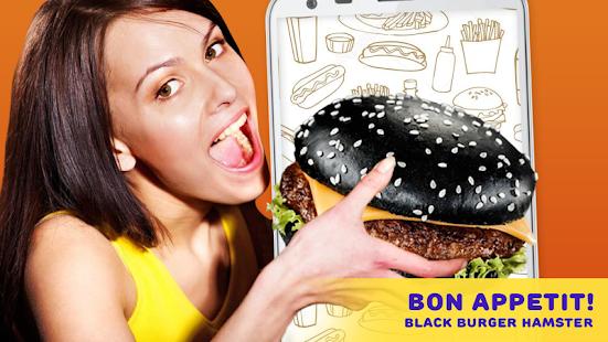 Black Burger Hamster - náhled