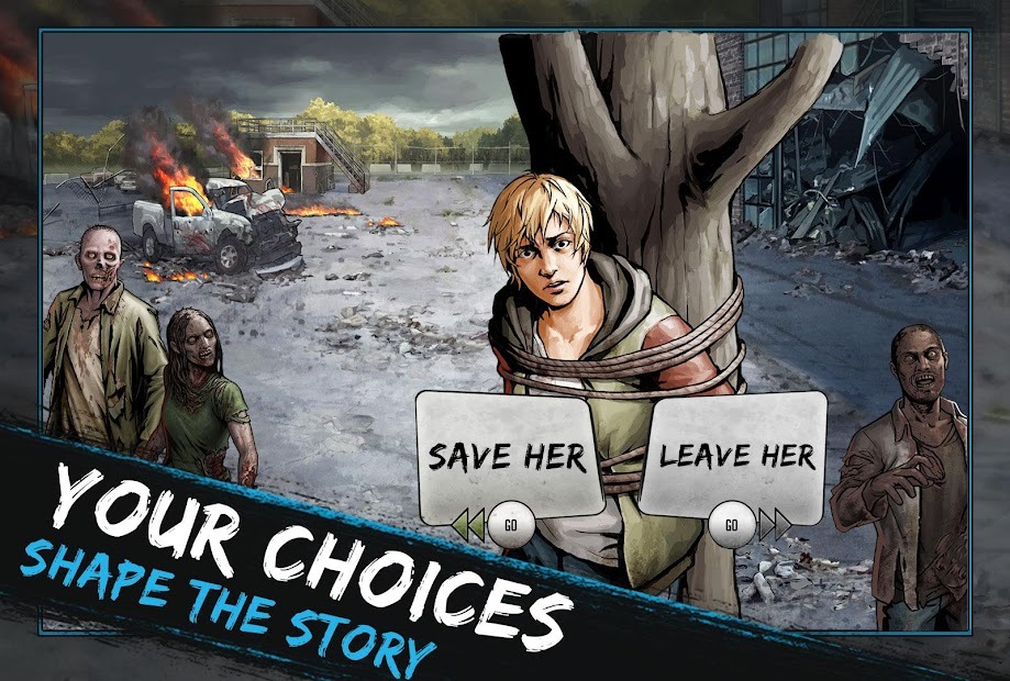 The Walking Dead: Road to Survival Android App Screenshot