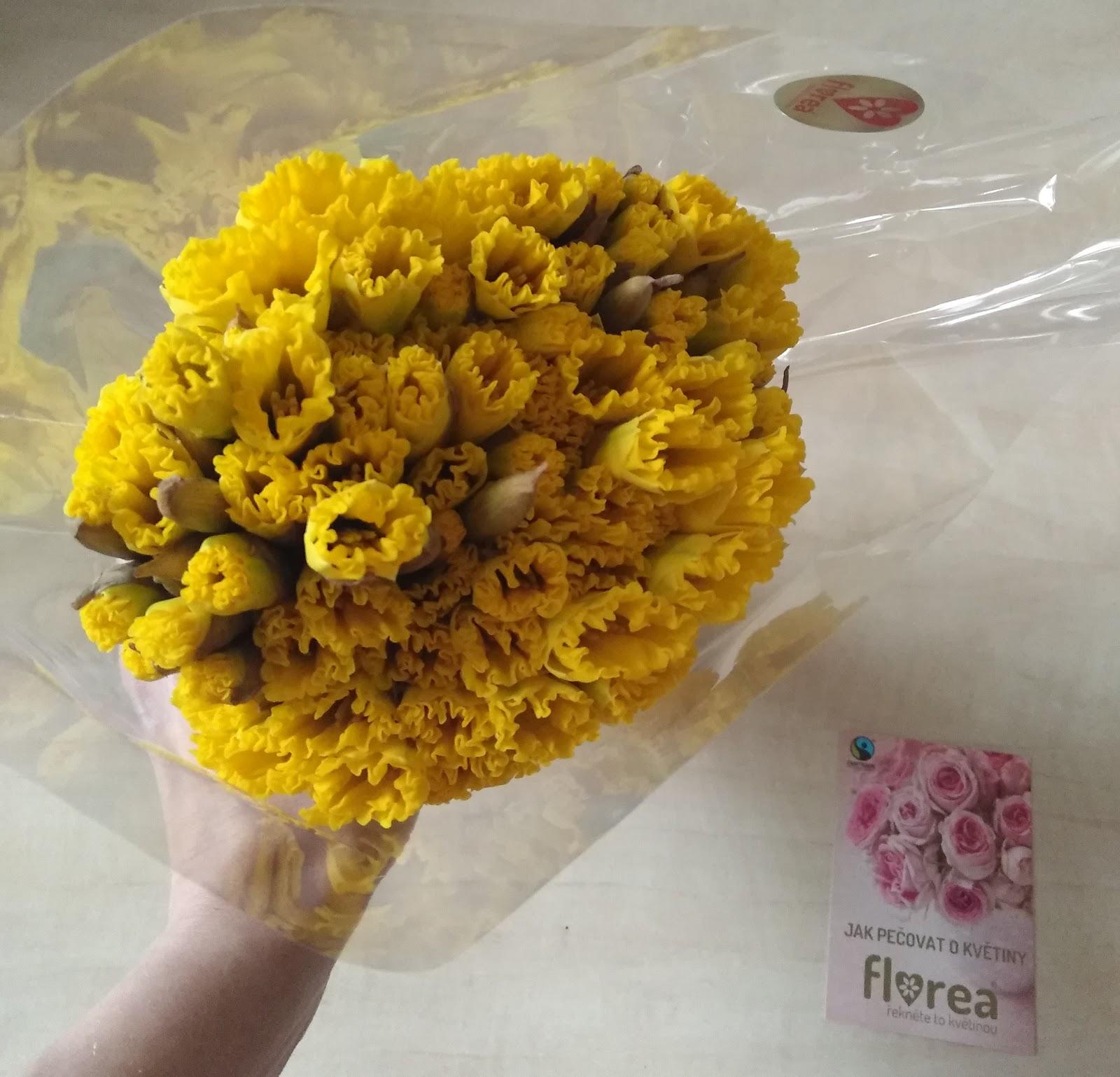 Recenze Florea: Kytice 100 narcisů v den doručení