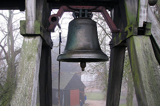Photo: Dzwon przy kościełe p.w. św. Józefa w Gieczu
