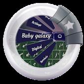 Baby galaxy GO Keyboard